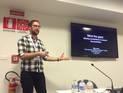 "Michael Jones presenting ""Mind the gaps"""