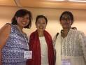 Margaret Chen, National Museum of the American Indian, Karen Chin, National Heritage Board Singapore, and Manvi Sharma, National Museum Institute of History of Art, Delhi