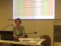 Angela Kailus, Bildarchiv Foto Marburg, presenting Collaborative Development of LIDO Terminology