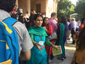 Prof. Manvi Seth with CIDOC delegates